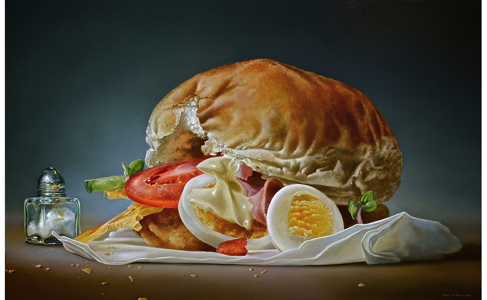 Broodje Ham Ei