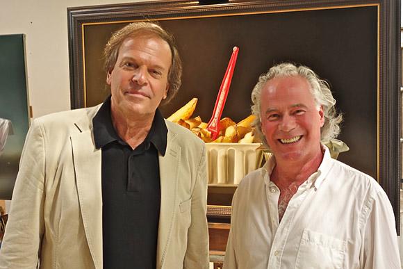 Ivo Niehe en Tjalf Sparnaay
