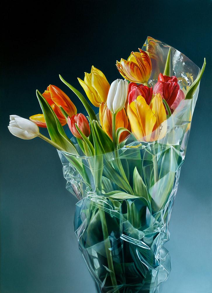 Tulpen in Plastic II   Tjalf Sparnaay