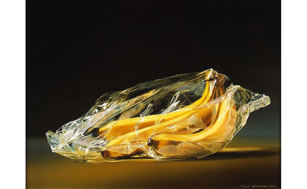 Bananen in Plastic