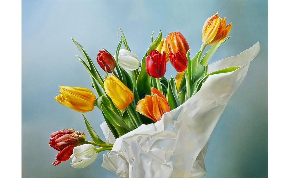 Tulpen in Papier