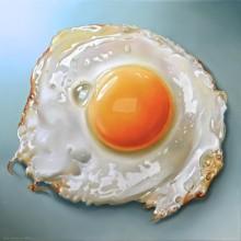 博物馆煎蛋